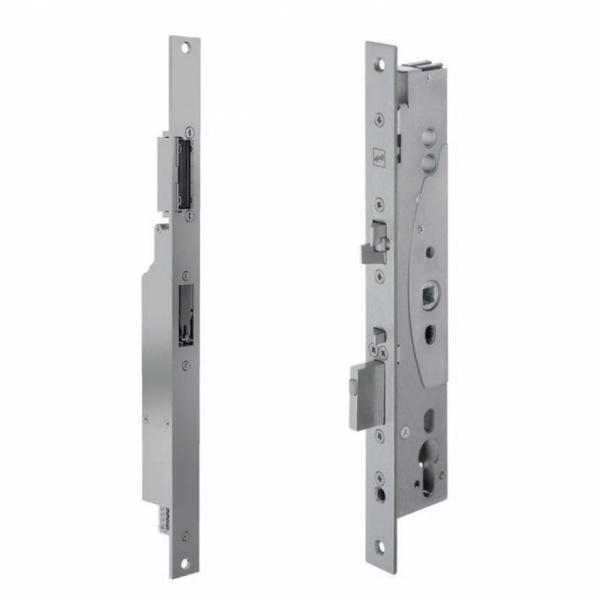 Kλειδαριά αυτόματου κλειδώματος ξύλινης πόρτας και αλουμινόπορτας για είσοδο πολυκατοικίας