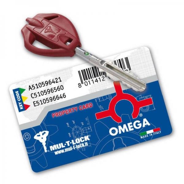 Κλειδαριά πόρτας ασφαλείας νέου τύπου OMEGA PLUS