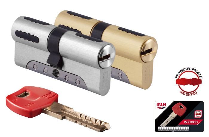 Κύλινδρος Ασφαλείας IFAM WX1000